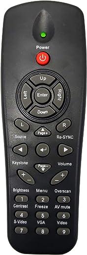 جهاز التحكم عن بعد لجهاز العرض من INTECHING BR-3043N لأوبتوما DS211، DS216، DS316، DS322، DS325، DS326، DW312، DW318، DX319، DX617، DX619، DX621، DX623، ES521، ES521، ES521، 6, ES526L, ES529, EW531