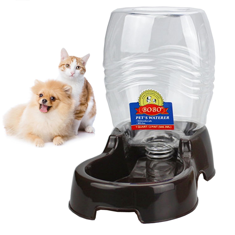 Pet Supplies : BOBO Pet Automatic Replenish Gravity Waterer Pet Cafe ...