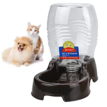 Pet Supplies : BOBO Pet Automatic Replenish Gravity Waterer Pet Cafe ...