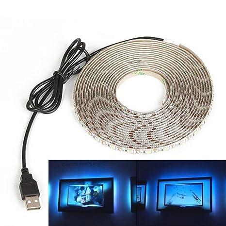 LED 5V 1M HDTV télé USB Pour Ruban 2M à 3528 Télévision LED shxtQCdr