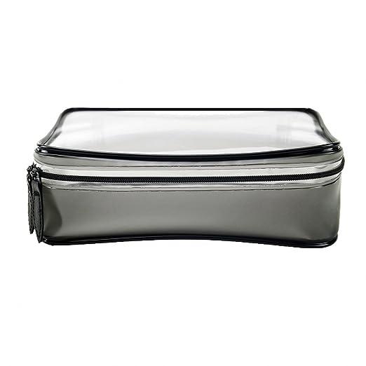 ba043da60bee Amazon.com  Bbymie Original Clear Travel Toiletry Bag Cosmetics travel bag travel  makeup bag waterproof bags for travel (square)  Clothing