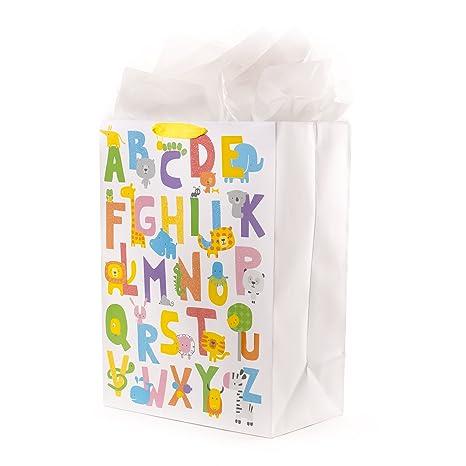 Amazon.com: Hallmark - Bolsa de regalo de plástico grande ...