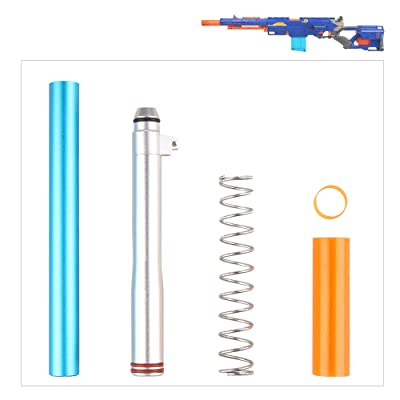 WORKER Short Dart Mod Kit for Nerf N-Strike Longstrike CS-6 Dart Blaster Modulus: Toys & Games