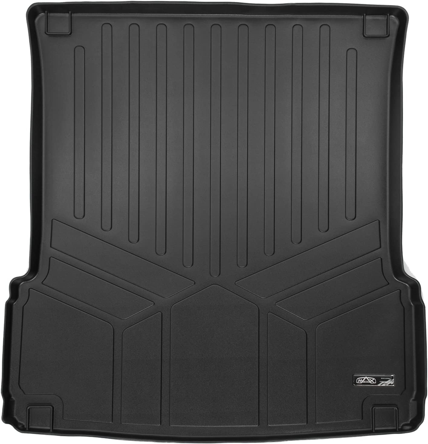and MAXTRAY Cargo Black for Mercedes Benz GL//GLS Series MAXFLOORMATS 2 Rows