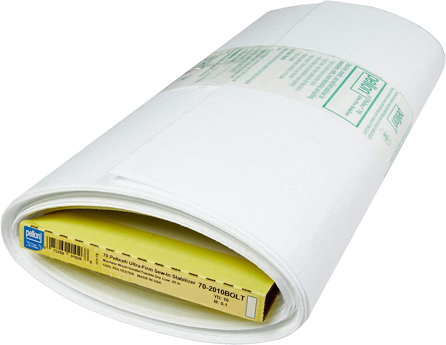 Pellon extra firm stabilizer Peltex 70 sew in extra firm interfacing or stabilizer for crafts.