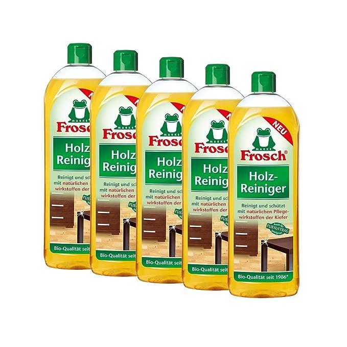 5 x rana madera limpiador 750 ml - natural Atención agentes de pino