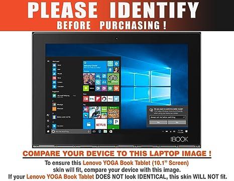 Decalrus - Protective decal for Lenovo Yoga Book (10.1
