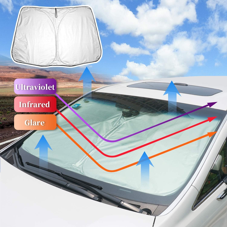 LFOTPP CX-5 CX5 2 KF Parasole per Parabrezza Interno Auto Protezione Parabrezza Accessori Interni