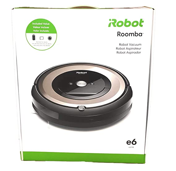 iRobot Roomba e6 6198 Wi-Fi Connected Robot Vacuum