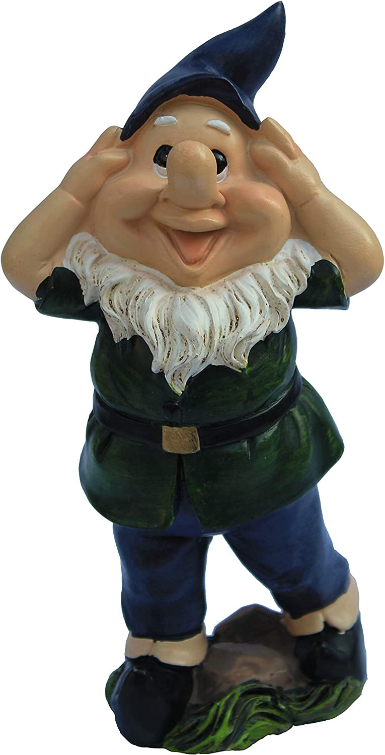 """Outdoor Decoration for Garden Gnomes Statue 6.3"""" Tall"""