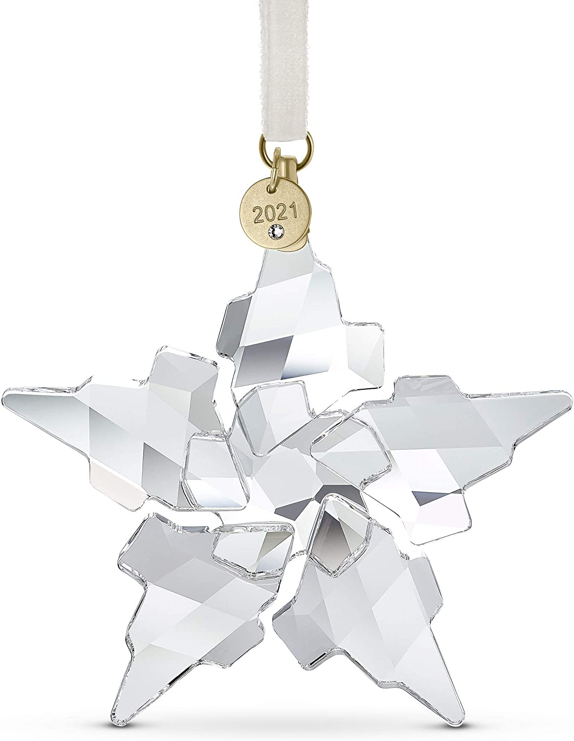 SWAROVSKI Christmas Ornament Collection, Annual Limited Editions,  Collectible, Clear Crystal
