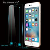 QPAU Tempered Glass Screen Protector for Apple iPhone 6/6S – Smart 4.7 Inch