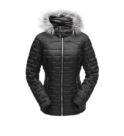 Spyder Women s Edyn Insulated Waterproof Down Winter Jacket with Faux Fur  Hood 5ca26b34f