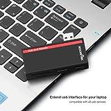 Rocketek USB 3.0 Hub with SD/TF Memory Card Reader