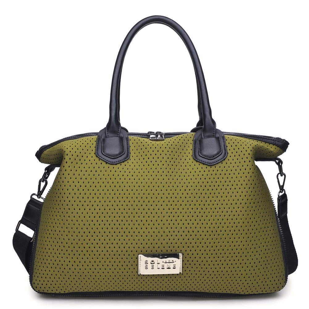 Sol and Selene Women's High Impact Tote Gym, Olive One Size