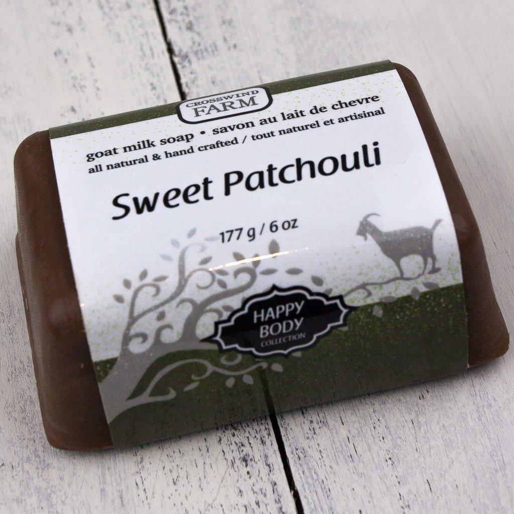 Sweet Patchouli Goat Milk Soap