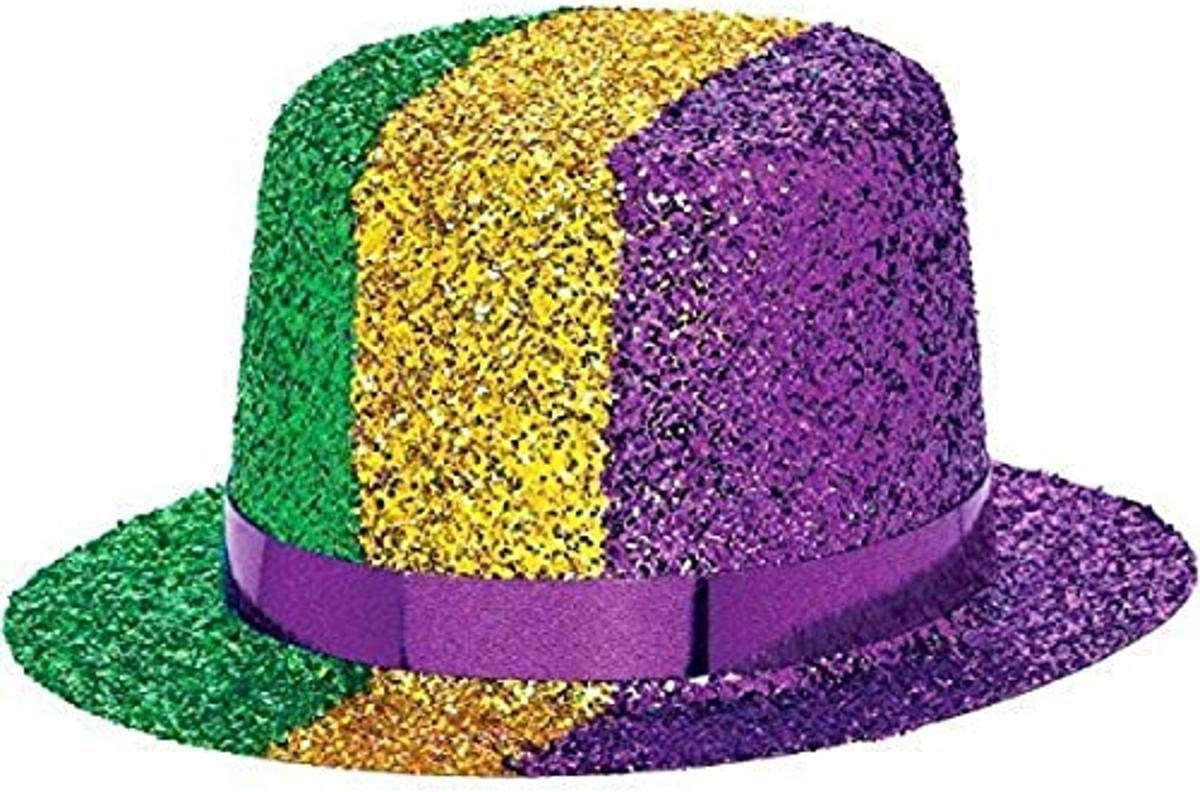 Mardi Gras Party Top Hats 12 Ct.