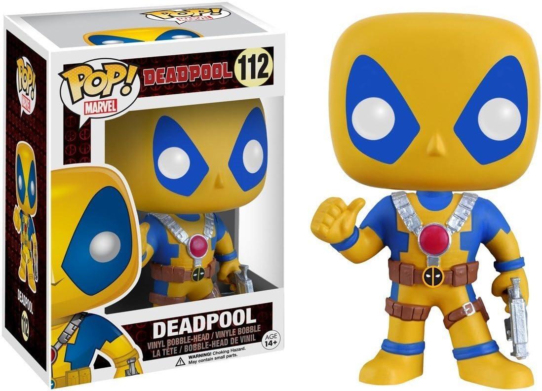 /Schwarz//Grau /Pop/ /Deadpool/ Funko/ /Marvel/ /pdf00005599/ /Yellow Kost/üm 112/
