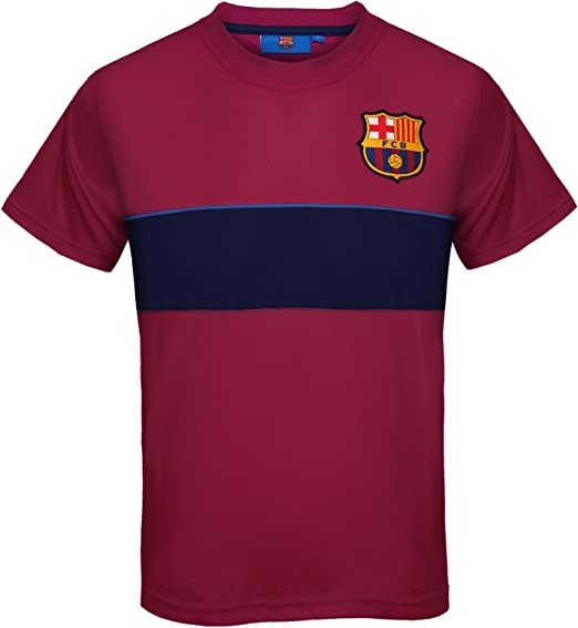 FC Barcelona Official Soccer Gift Boys Crest Sweatshirt Top