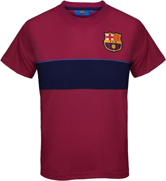 FC Barcelona - Camiseta oficial de entrenamiento - Para niño - Poliéster: Amazon.es: Ropa y accesorios