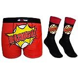 The Big Bang Theory Official Gift Mens Dress Socks & Boxer Shorts