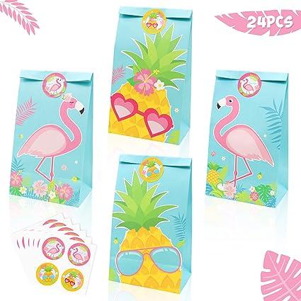 Amazon.com: Bolsas de golosinas para fiestas, Flamingo: Toys ...