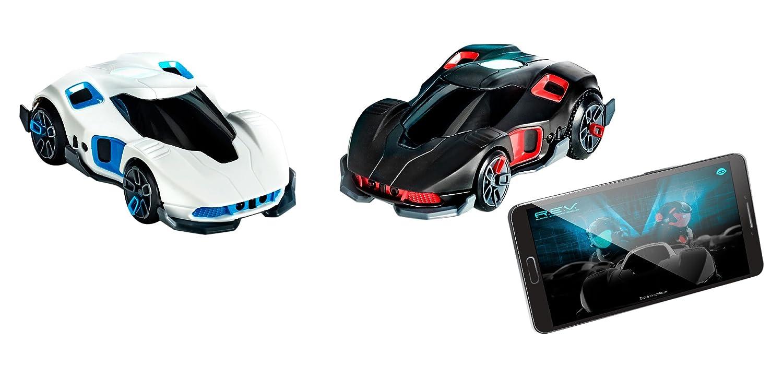 WowWee - 0420 - REV Cars, ferngesteuerte Autos, schwarz-weiß schwarz-weiß