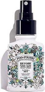 Poo-Pourri Before-You-Go Toilet Spray, Vanilla Mint Scent, 2 oz, 2 Fl Oz