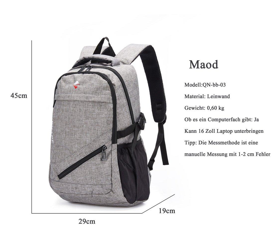 Azul Maod juveniles Backpack Impermeables Mochila de Ordenador Impresi/ón Bolsos Escolares portatil mochilas escolares 15.6 Pulgadas mochila
