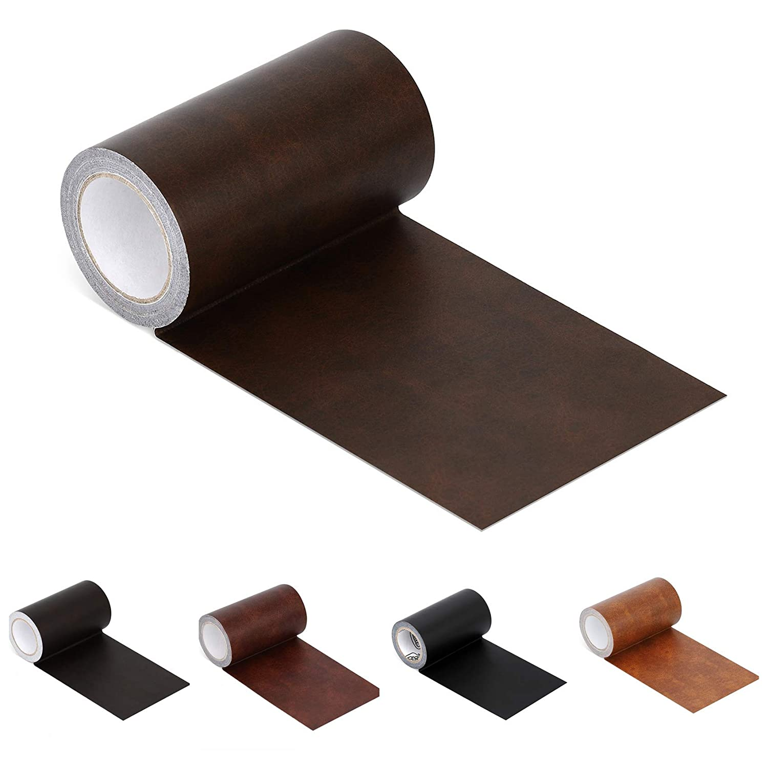 Pleasant Leather Repair Tape Patch Leather Adhesive For Sofas Car Seats Handbags Jackets First Aid Patch 2 4X15 Dark Brown Leather Unemploymentrelief Wooden Chair Designs For Living Room Unemploymentrelieforg