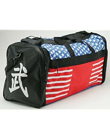 c693a1c7a4 Taekwondo Sparring Gear Martial Arts Gear Equipment Bag Tae Kwon Do Karate  MMA American Flag Big