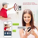 Video Doorbell, Awakingdemi Waterproof Smart