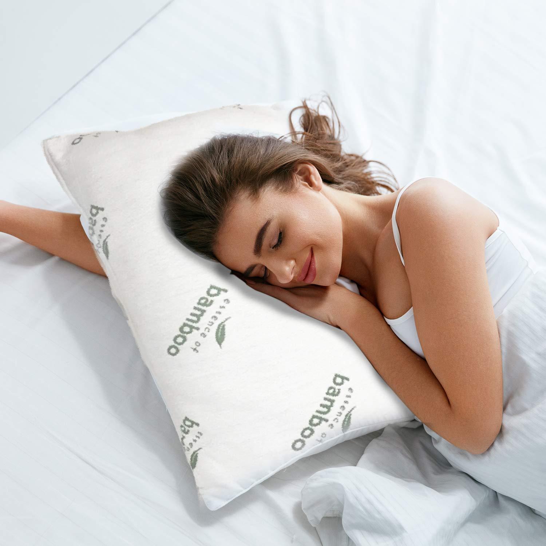 queen memory foam bed pillow by pegasus