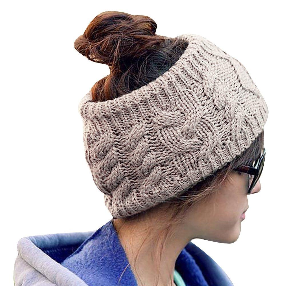 TININNA Diadema Venda del pelo del Knit,invierno caliente del oído de punto hairband de la venda del...