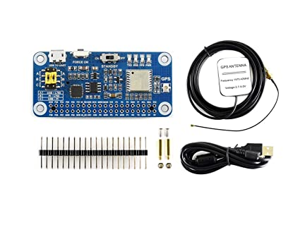 Amazon com: Waveshare L76X Multi-GNSS HAT for Raspberry Pi