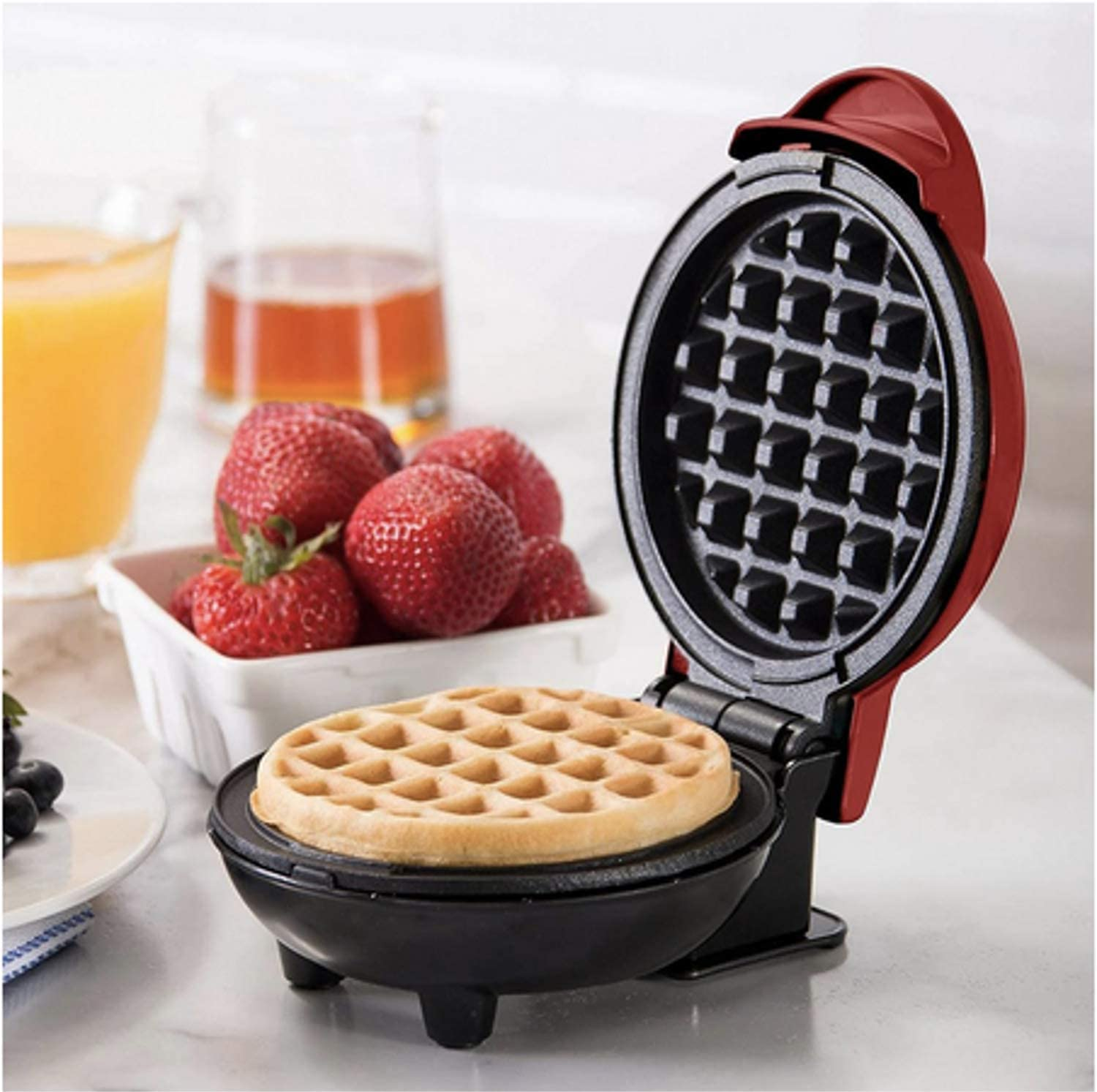 Non Stick Waffle Maker Iron Electric