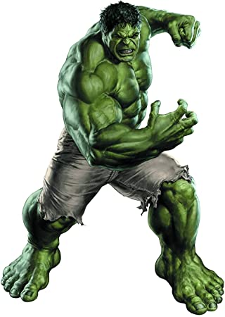 Amazoncom Green Hulk 14 Sheet Edible Photo Birthday Cake Topper