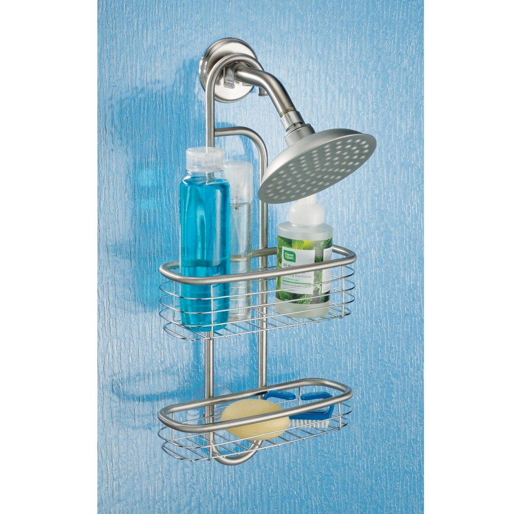 Amazon.com: InterDesign Forma Ultra Bathroom Shower Caddy for ...