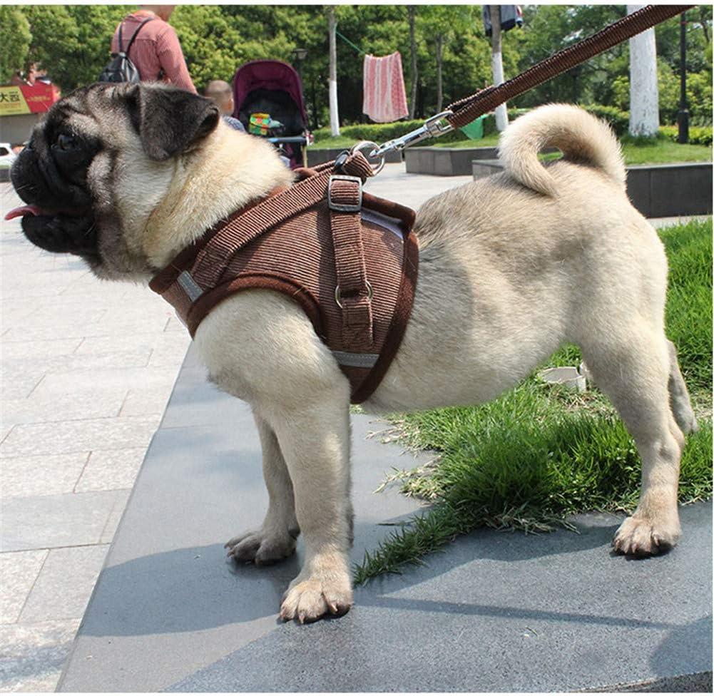 qingqingxiaowu Dog Lead Cat Harness And Leash Dog Harness Large No Pull Dog Harness For Medium Dogs Dog Harness Lead Cat Harness With Lead brown,xs