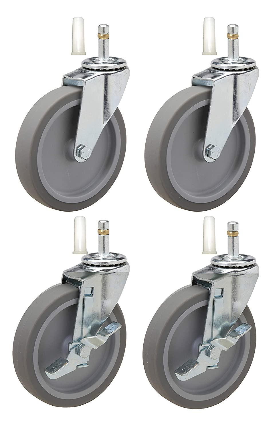 """4"""" Caster Replacement for Rubbermaid Utility Carts 