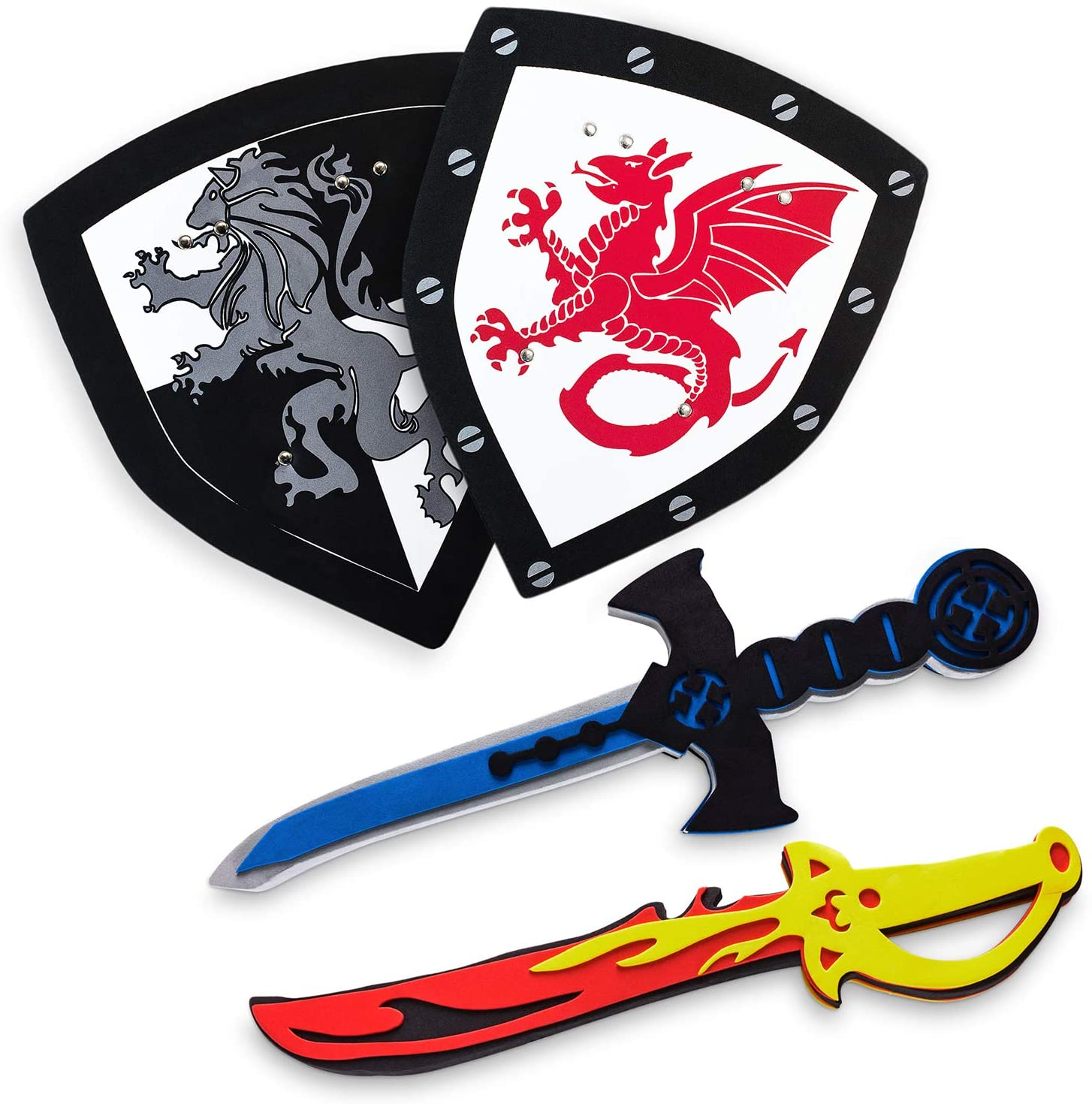 KNIGHTS WARRIORS SWORD AND SHIELD SUPPLY ONLY ONE
