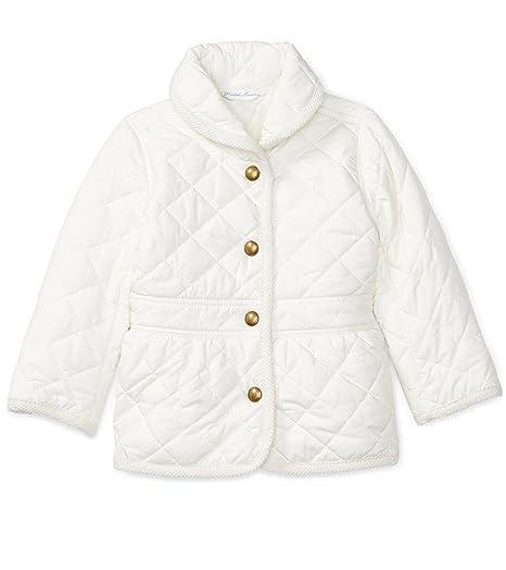 a89a1be58108 Amazon.com  Ralph Lauren Baby Girls  Corduroy-Trim Barn Jacket (9 ...