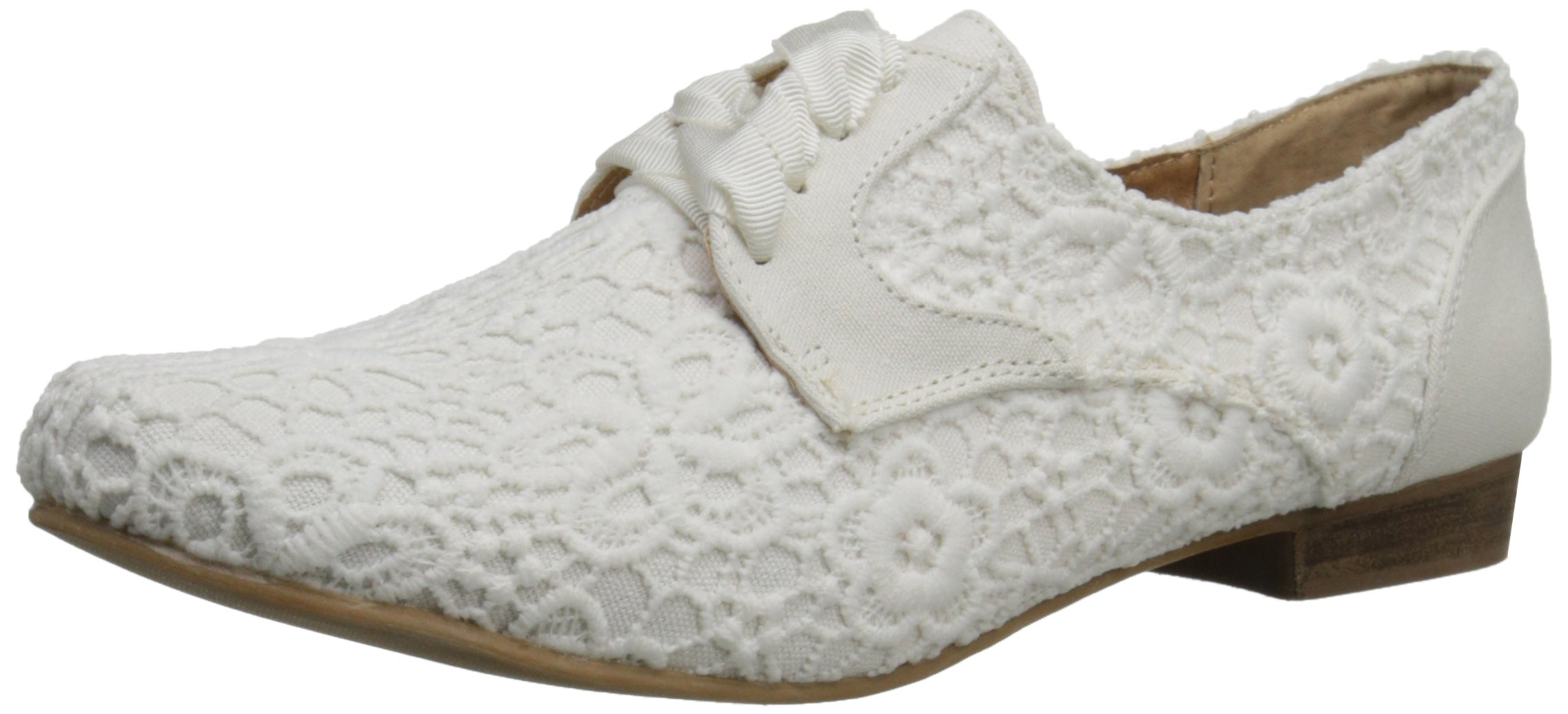 Not Rated Women's Eagle Eye Oxford, White, 7 M US by Not Rated (Image #1)