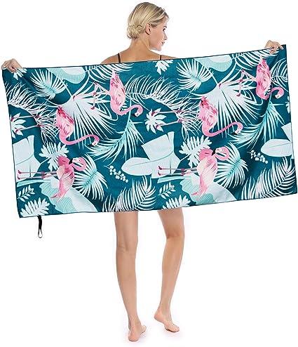 Unicorn Quick Fast Dry Beach Towel Oversi Sand Proof Microfiber Beach Towels