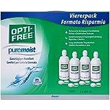 Opti-Free PureMoist, Kontaktlinsen-Pflegemittel, Systempack, 4 x 300 ml