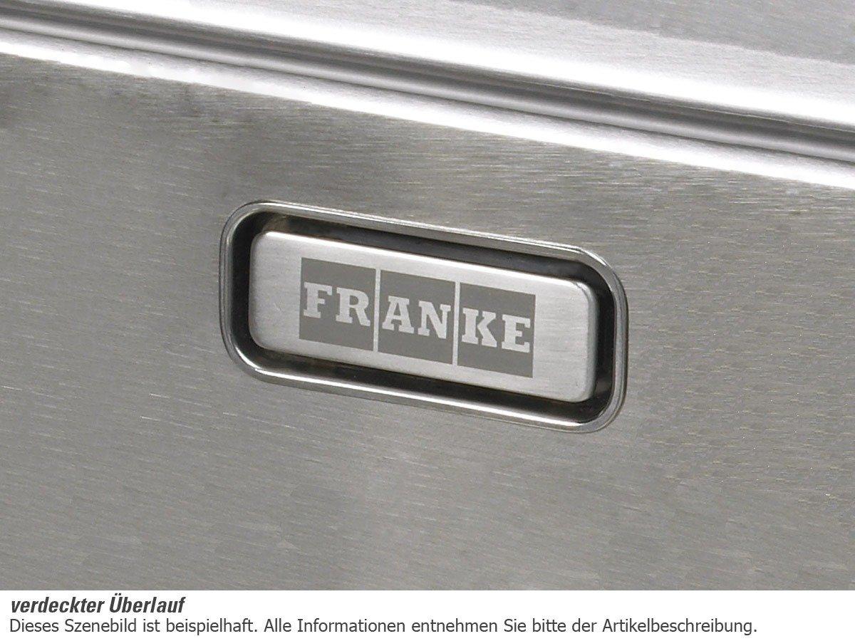 Franke Mythos MTX 251 Edelstahl glatt Spülbecken Küchenspüle ... | {Spülbecken franke 89}