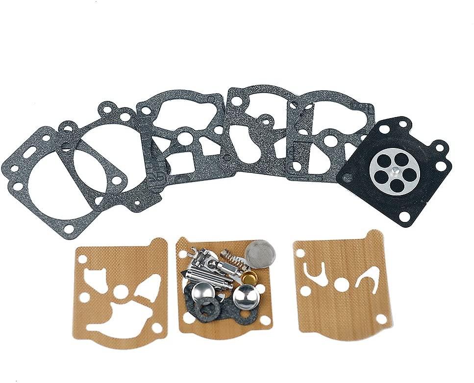 Hipa Carburetor Rebuild Kit K20-WAT for Carb Echo Homelite Husqvarna Chainsaw String Trimmer