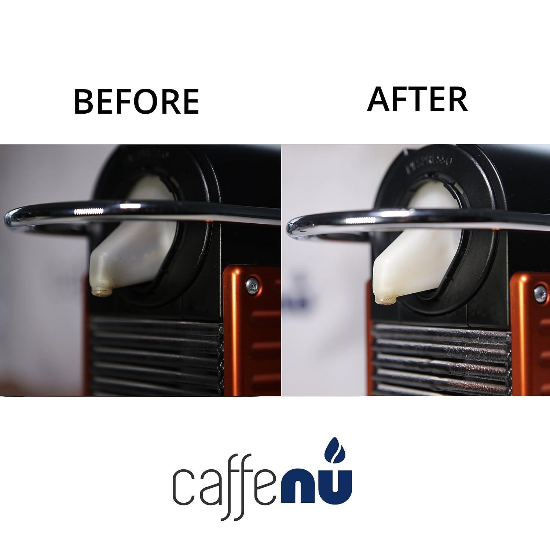 Caffe Nu - Cápsulas limpiadoras para máquina de café Nespresso - 5 unidades: Amazon.es: Hogar