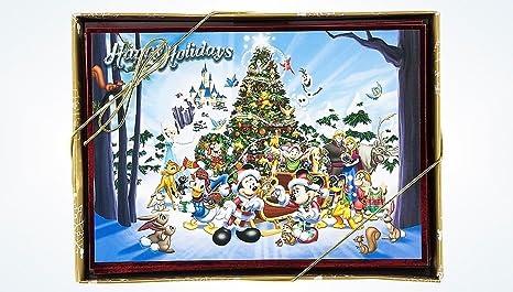 Auguri Di Natale Disney.Disney Natale Set Con 16 Natale Biglietti Di Auguri Con Buste