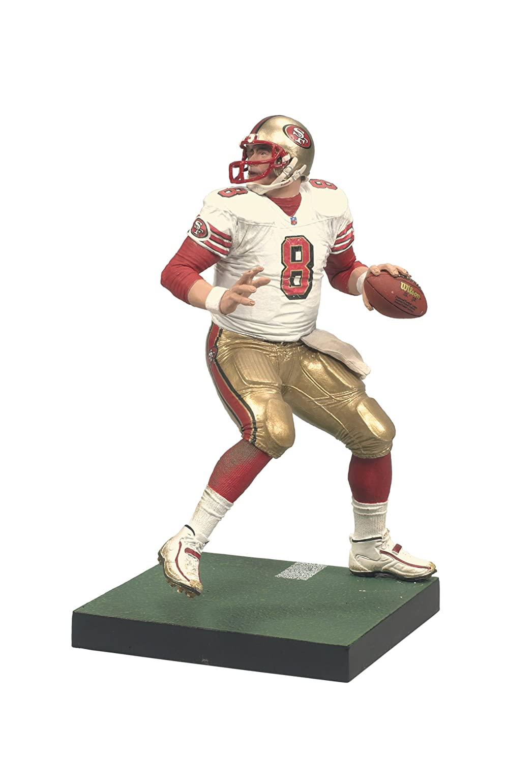 amazon com mcfarlane toys nfl legends series 6 steve young
